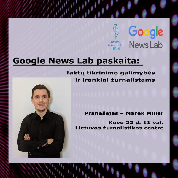 Google News Lab Lecture: Fact Checking Tools